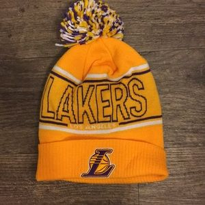 LA Lakers Adidas stocking hat
